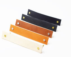 Leather Home Decor by Leather Drawer Pulls Cabinet Pulls Furniture Upgrade Leather