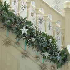 holiday banister decorating ideas u2013 satsuma designs