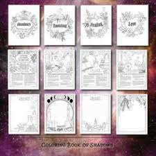book spells pdf printable pages shadow book boss