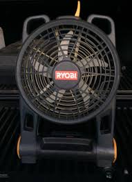 ryobi fan and battery ryobi battery fan great for a garage etc tools machinery in