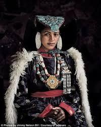 ladakh clothing photos of the world s rarest tribes india jimmy