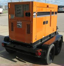 multi quip whisperwatt mq power 45 mobile generator item 5