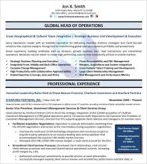 10 executive resume templates free sles exles formats