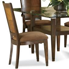 rectangular glass top dining room tables bassett mirror dunhill 5 piece rectangular glass top dining room