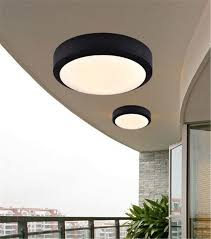 ceiling light flat round round flat led light for outside porch ceiling waterproof lights