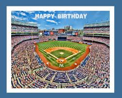 mlb 2015 new york yankees birthday card funny baseball players