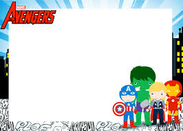 free printable invitations avengers chibi style free printable invitations oh my fiesta