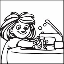 Hand Washing Coloring Sheets - washing hands clipart cliparts and others art inspiration