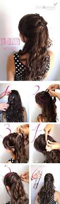 quick hairstyles for long hair at home 583 best a nos crinières hair images on pinterest casual