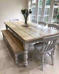 country kitchen table with bench country style kitchen table full size of country round farmhouse
