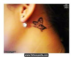 butterfly the ear design ideas tattoomagz