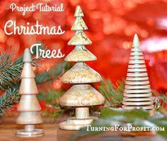 wood turned natural christmas ornaments set of by thefreshcontent