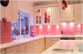 lights under kitchen cabinets breathtaking small pink kitchen come with pink color backsplashes