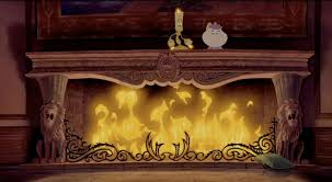 beauty the beast hibbing community college fireplace scenery still from the beast s castle in beauty the
