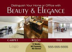 Commercial Flooring Services 4 Brilliant Flooring Services Direct Mail Postcard Exles