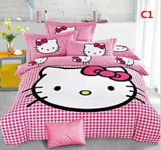 cute 3d bedding set hello kitty bedding new cotton children