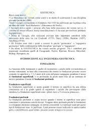 geotecnica dispense lezioni complete appunti di geotecnica