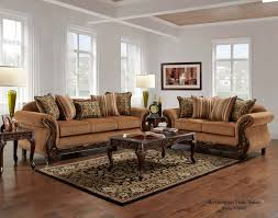 Gold Sofa Living Room Florence Gold Sofa And Loveseat Fabric Living Room