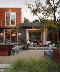 House With Central Courtyard Taking In The Outdoors Contemporary Custom Residence In Los Altos