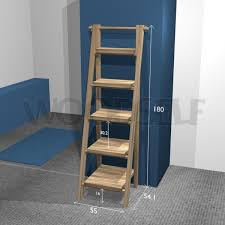 Free Shelf Woodworking Plans by Ladder Shelf Woodself Free Plans For Woodworking