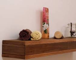 Wooden Gallery Shelf by Wooden Picture Ledge Shelf Gallery Wall Shelf Rustic