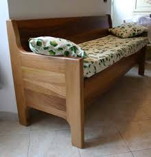 divanetto da cucina panca in noce panche f lli lusardi di ferdinando snc