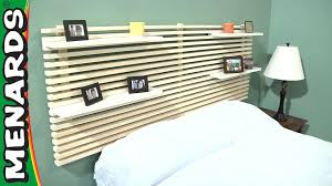 Menards Bed Frame Mandal Headboard How To Build Menards Ikea Used To