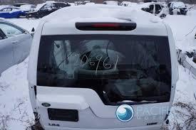 lifted land rover lr4 upper liftgate trunk lid hatch fugi white land rover lr3 lr4 2005