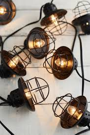 metal lantern patio lights outdoor inspiring vintage cage lantern string lights clear bulbs