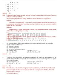 gate computer science last year question papers 2017 2018