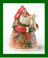 Jim Shore Christmas Ornaments Ebay by Jim Shore Heartwood Creek Christmas Figurine 4022920 Santa