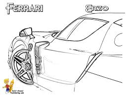ferrari sketch side view heart pounding ferrari coloring ferrari cars free boys race