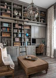 Home Library Ideas 28 Dreamy Home Offices With Libraries For Creative Inspiration