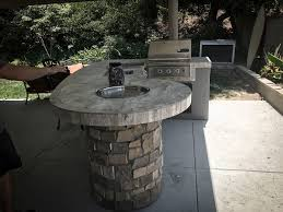 kitchen rock island custom outdoor kitchen with rock backyard designs