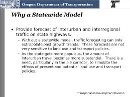 Oregon travel forecast images Transportation development division oregon integrated land use and jpg
