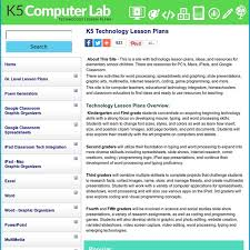 technology lesson plans k 5 computer lab pearltrees
