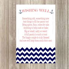 wedding quotes nautical ideas gift card bridal shower wording quotes bridal shower