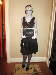 silent film star halloween costume