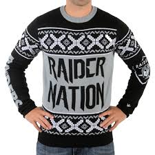 raiders christmas sweater with lights oakland raiders ugly christmas sweaters sports themed ugly