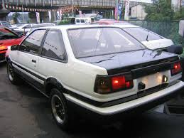 toyota corolla gt coupe ae86 for sale sold trueno in the past toyota trueno japanese used car