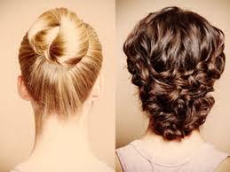 Hochsteckfrisuren Einfach Mittellang by Mittellanges Haar Einfach Hochstecken