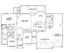 Ranch Style House Plans With Basements Rambler House Plans With Basements Panowa Home Plan Rambler