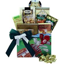 Snack Gift Baskets Golfers Delights Gourmet Food And Snacks Golf Gift Basket Gift