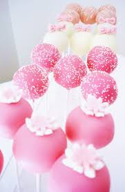 268 best bridal shower cake pops balls images on pinterest