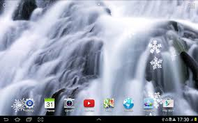 winter waterfalls wallpaper android apps on google play