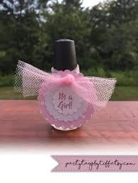 opi nail polish baby shower favors created by kathy