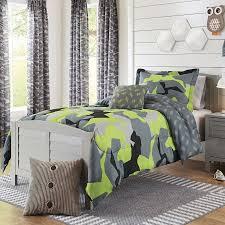 Camo Bedding Walmart Better Homes And Gardens Kids Camo Lime Bedding Comforter Set