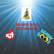 beanie boo birthdays march notice video