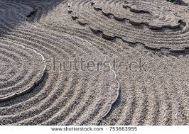 Zen Garden Rocks Japanese Zen Garden Rocks Stock Photo 753663955
