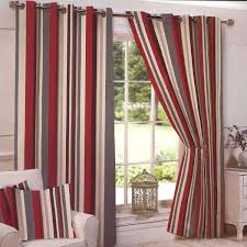 brown red curtains belvedere red lined ready made eyelet ring top